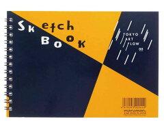 【TOKYO ART FLOW】マルマン スケッチブック 図案スケッチブック B6