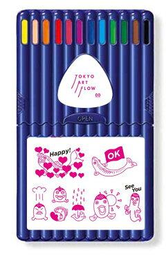 【TOKYO ART FLOW】STAEDTLER エルゴソフト色鉛筆12本セット
