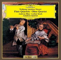 モーツァルト:フルート四重奏曲第1番ー第4番 オーボエ四重奏曲 [ ブラウ/コッホ アマデウスSQ ]
