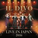ライヴ・アット武道館2016 (初回限定盤 2CD+DVD) [ イル・ディーヴォ ]