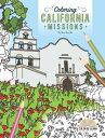 Coloring California Missions COLOR BK-COLORING CALIFORNIA M Max Kurillo