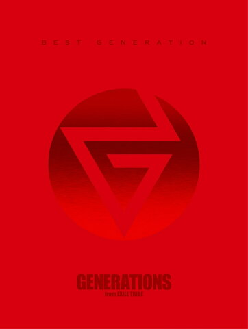 BEST GENERATION (数量限定生産盤 3CD+4DVD) [ GENERATIONS from EXILE TRIBE ]