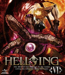 HELLSING 6【Blu-ray】 [ 中田譲治 ]