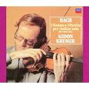 J.S.バッハ:無伴奏ヴァイオリンのためのソナタとパルティータ 全曲 [ ギドン・クレーメル ]
