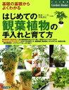 はじめての観葉植物の手入れと育て方 基礎の基礎からよくわかる (ナツメ社のgarden books)