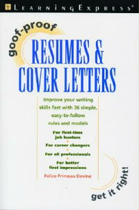 Goof-Proof_Resumes_��_Cover_Let