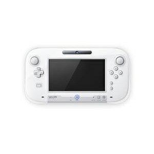 シリコンカバー for Wii U GamePad クリアホワイト