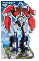 Transformers Prime Optimus Prime Stand Up Mover: Stand-Up Mover