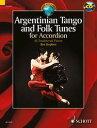 【輸入楽譜】アコーディオンのためのアルゼンチンタンゴと民謡集/Rosser, Stephen編(CD付)