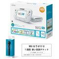 【数量限定】 Wii U すぐに遊べるスポーツプレミアムセット + 10万曲以上歌い放題!お家ですぐに歌えるお得なカラオケセット【Wii Uマイク1本つき】の画像