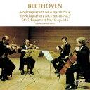 室内乐 - ベートーヴェン:弦楽四重奏曲第4番・第5番・第16番 [ ベルリン弦楽四重奏団 ]