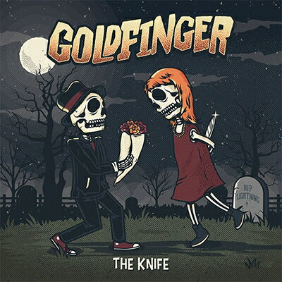 【輸入盤】Knife [ Goldfinger ]