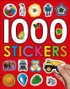 1000 STICKERS(P) [ PRIDDY BOOKS ]