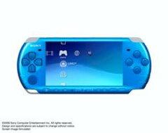 PSP-3000 「プレイステーション・ポータブル」 (バイブラント・ブルー)