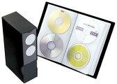 CDF7202ーBK CDファイル ブックタイプ 72枚収納ブラック