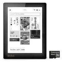 【優待販売】KoboAuraブラック16GBmicroSDカードセット