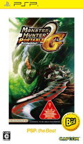 MONSTER HUNTER PORTABLE  2nd G PSP the Best