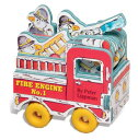 MINI-WHEELS BOOKS:FIRE ENGINE NO.1(BB) [ PETER LIPPMAN ]