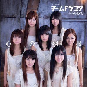 心の羽根(初回限定盤DVD付)(小嶋陽菜) [ チームドラゴン fromAKB48 ]