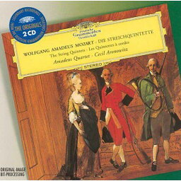 モーツァルト:弦楽五重奏曲全曲(2CD) [ アマデウス弦楽四重奏団 ]