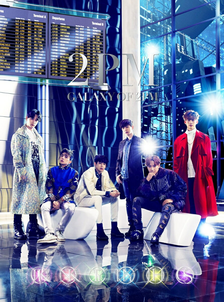GALAXY OF 2PM (初回限定盤A CD+DVD) [ 2PM ]