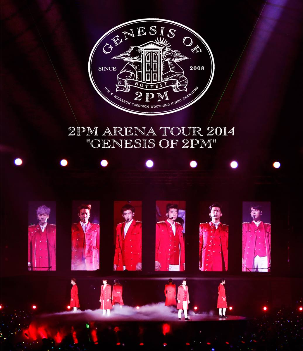 ARENA TOUR 2014 GENESIS OF 2PM【Blu-ray】 [ 2PM…...:book:17177923