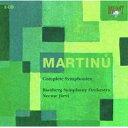 Symphony - 【輸入盤】交響曲全集 ネーメ・ヤルヴィ&バンベルク響(3CD) [ マルチヌー(1890-1959) ]
