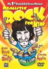 RealisticRockforKids(My1stRock&RollDrumMethod):DrumBeatsMadeSimple!,DVD[CarmineAppice]