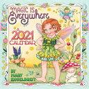 Mary Engelbreit 2021 Mini Wall Calendar: Magic Is Everywhere MARY ENGELBREIT 2021 MINI WALL [ Mary Engelbreit ]