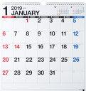 2019年版 1月始まり E52 エコカレンダー壁掛B3変型...