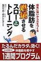 体脂肪を燃焼させるスロートレーニング