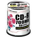 データ用CD-R X48 700MB 100枚スピンドルケース