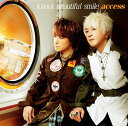Knock beautiful smile (初回限定盤 CD+DVD) [ access ]