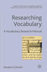 Researching_Vocabulary��_A_Voca