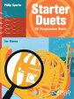 【輸入楽譜】スパーク, Philip: スターター・デュエット集: ホルンのための60のプログレッシヴ・デュエット集(F管またはEb管ホルン二重奏)
