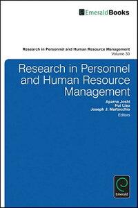 ResearchinPersonnelandHumanResourcesManagement