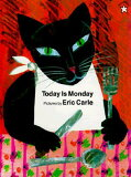 【】【sale1130】TODAY IS MONDAY(P) [ ERIC CARLE ]