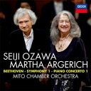 【輸入盤】ピアノ協奏曲第1番、交響曲第1番 マルタ・アルゲリ...