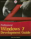 Professional Windows 7 Development Guide