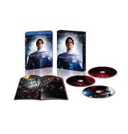 マン・オブ・スティール 3D&2Dブルーレイセット(3枚組)【初回数量限定生産】【Blu-ray】