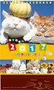 かご猫卓上カレンダー [ SHIRONEKO ]