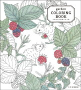 garden COLORING BOOK小鳥と花と動物のぬり絵