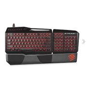 マッドキャッツ ゲーミングキーボード S.T.R.I.K.E.3 Black (英語配列・109キー) MC-STRIKE3BZ
