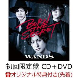 【楽天ブックス限定先着特典】BURN THE SECRET (初回限定盤 CD+DVD)(クリアファイル(A4サイズ)) [ <strong>WANDS</strong> ]