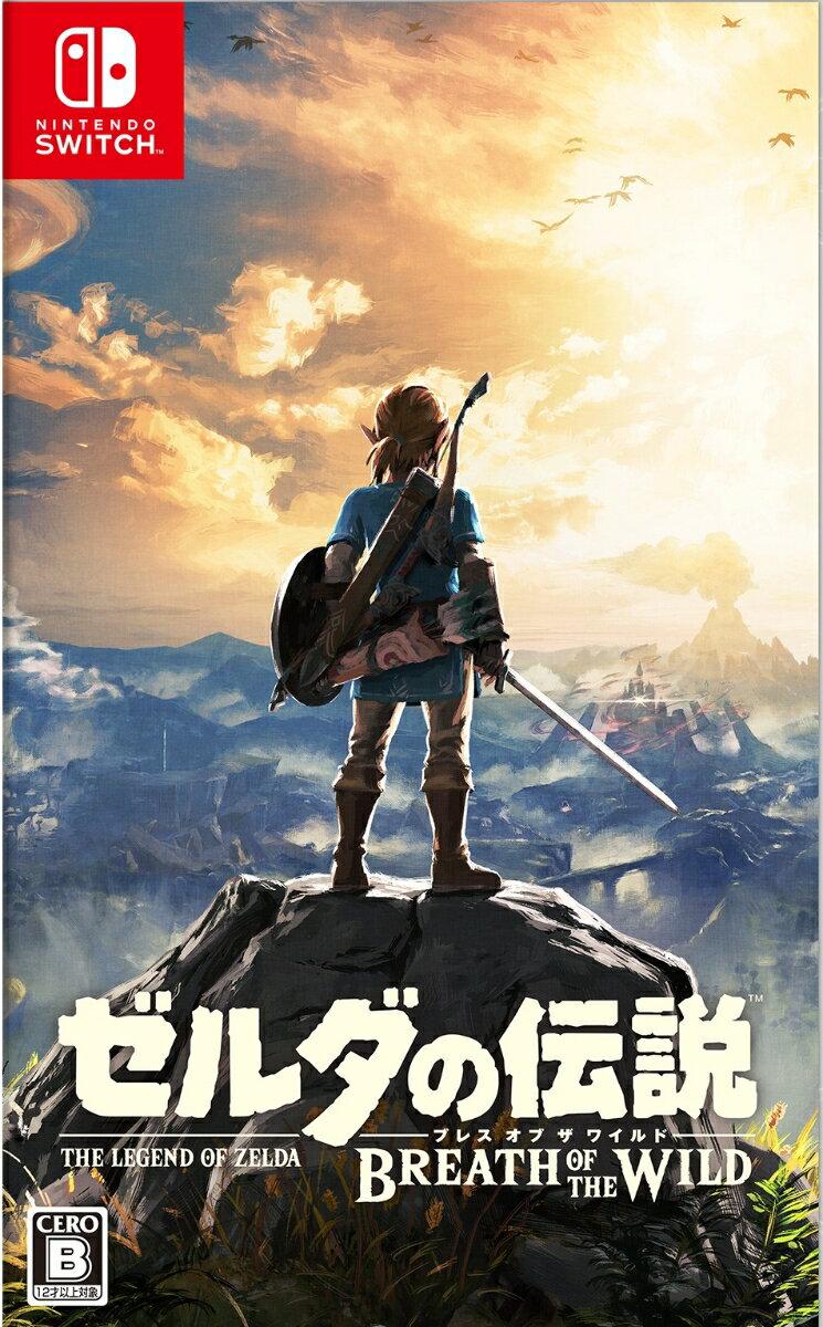 【予約】ゼルダの伝説 ブレス オブ ザ ワイルド Nintendo Switch版