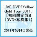 LIVE DVD「Yellow Gold Tour 3011」【初回限定盤B (DVD+写真集)】 [ 赤西仁 ]