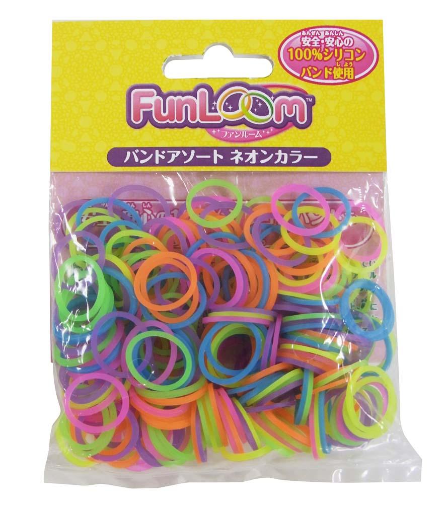 FunLoom (ファンルーム) バンドアソート ネオンカラー