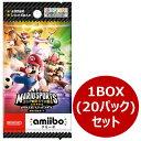 『マリオスポーツ スーパースターズ』amiiboカード 1BOX(20パック入り)