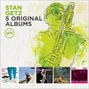 爵士 - 【輸入盤】5 Original Albums (Ltd) [ Stan Getz ]