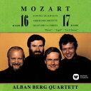 モーツァルト:弦楽四重奏曲 第16番 第17番「狩」